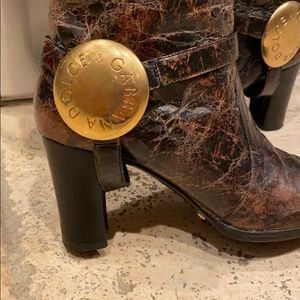D&G vintage very rare boots